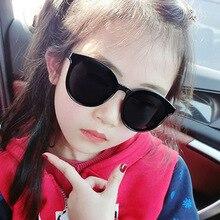 HJYBBSN Cat Eye Kids Sunglasses Boys Baby Girls Trendy Luxury Brand Ray Bann Glasses vintage Butterfly Wings UV400