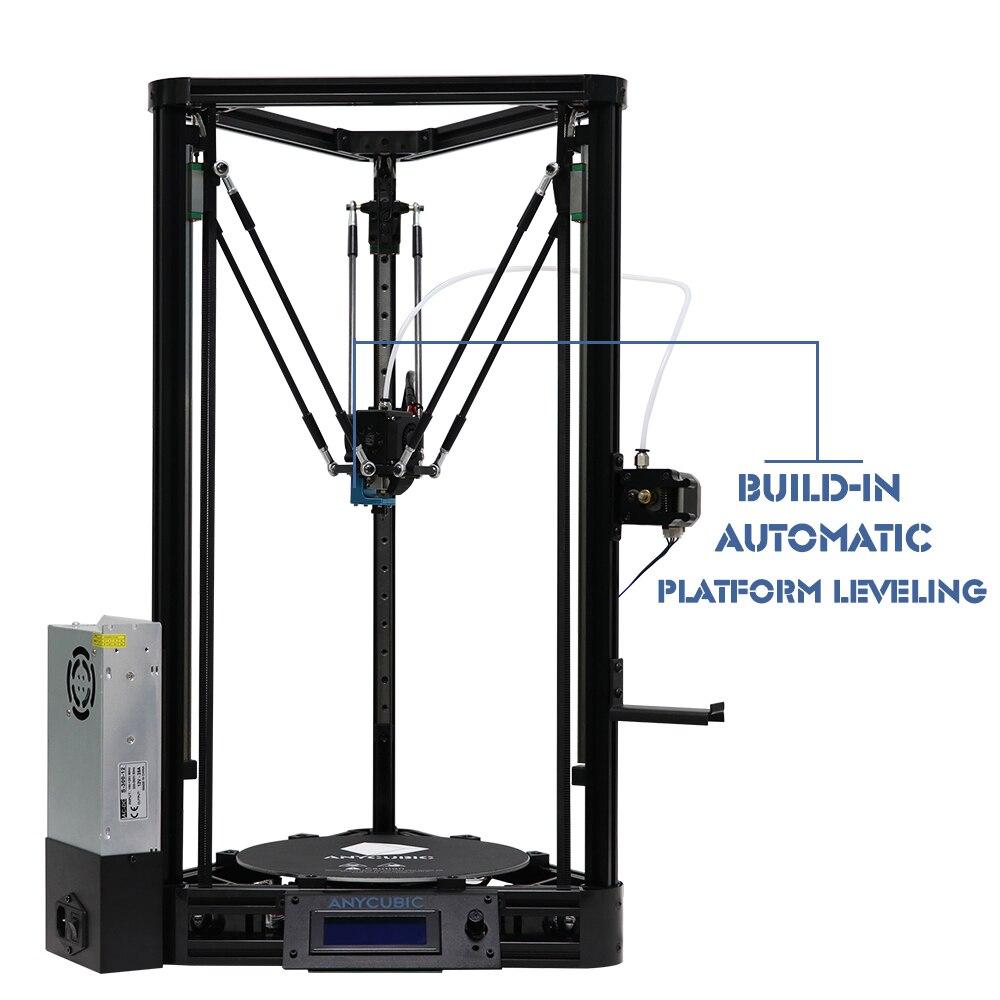 Anycubic 3D-принтеры impresora 3d авто уровень платформы шкив линейный руководство плюс большой печати Размеры Desktop DIY Kit Высокое качество