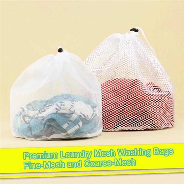 Multi Size Laundry Bags With Drawstring & Locking Closure Wash Bag Laundry Mesh Washing Lingerie Bag Delicates Laundry Bag