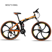 folding Road Bike 24 speed 26 29 inch mountain bike brand bicycle Front and Rear Mechanical