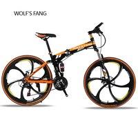 folding Road Bike 24 speed 2629 inch mountain bike brand bicycle Front and Rear Mechanical Disc Brake Full shockingproof Frame