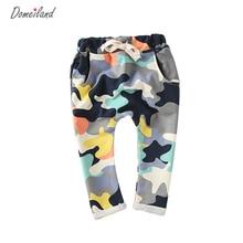 Domeiland de mode Enfants Vêtements 2017 Enfants Garçon filles Camouflage Longue PP Harem Pantalon Cool Garçon Sport Camo Cargo Pantalon