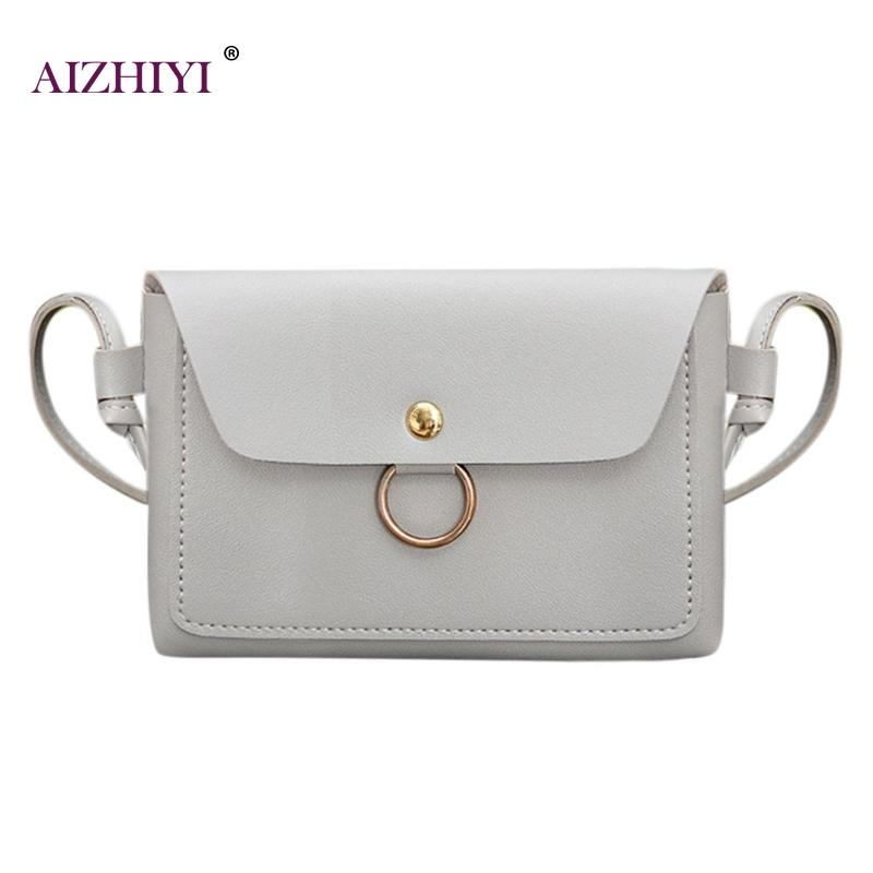 Women Girls Candy Color Messenger Handbags Small PU Leather Crossbody Purse Shoulder Bag Simple Fashion Casual Shopping Bag New