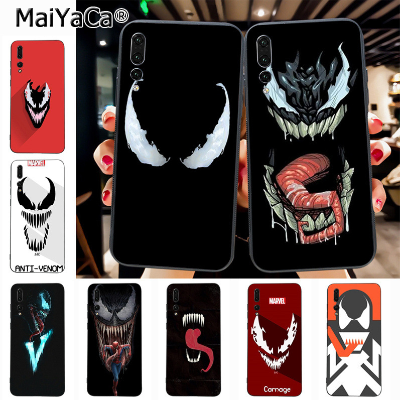 Maiyaca Venom On Sale! Luxury Cool phone Case for Huawei P20 P20 pro Mate10 P10 Plus Honor9 cass(China)