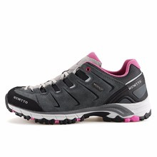 HUMTTO Womens Fashion Leather Sport Outdoor Trekking Hiking Shoes Sneakers For Women Sports Climbing Mountain Shoes Woman