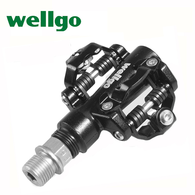 Wellgo Bicycle Pedal Bearings Clipless Pedals Spd Self Lock
