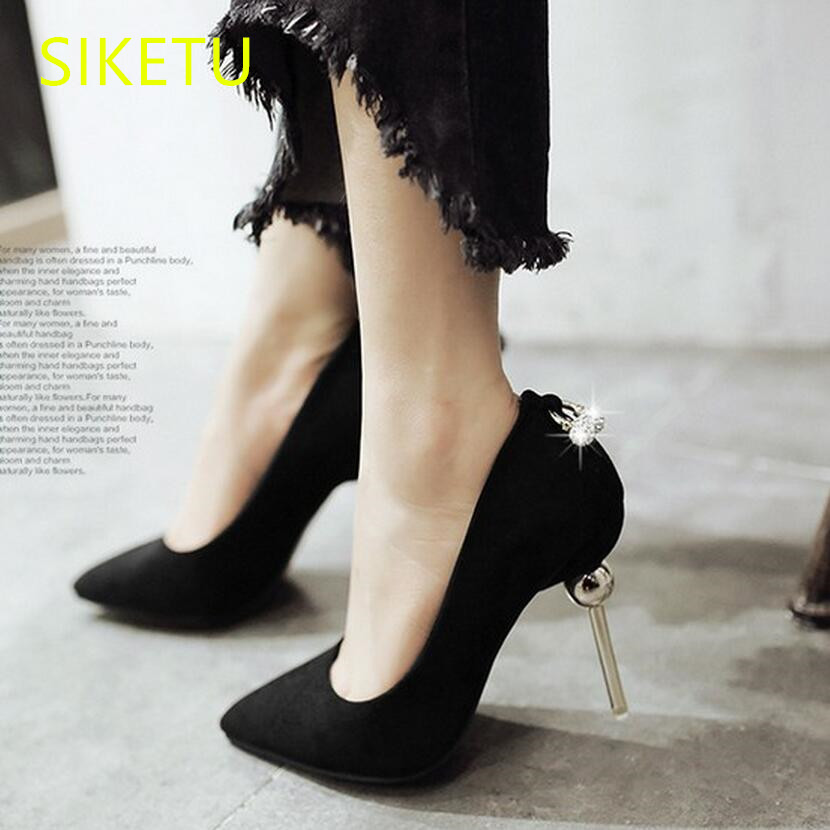 SIKETU 2017 Free shipping Spring and autumn Women shoes High heels shoes Wedding shoes Nightclub sex Rhinestones pumps g148 siketu 2017 free shipping spring and autumn women shoes high heels shoes wedding shoes nightclub sex rhinestones pumps g148