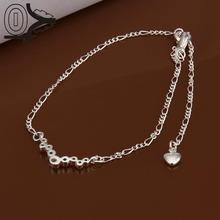 Lose Money!!Wholesale Silver Plated Anklets,Fashion Silver Foot Jewelry,Polka Dot Inlay Anklets Bracelet for Wedding