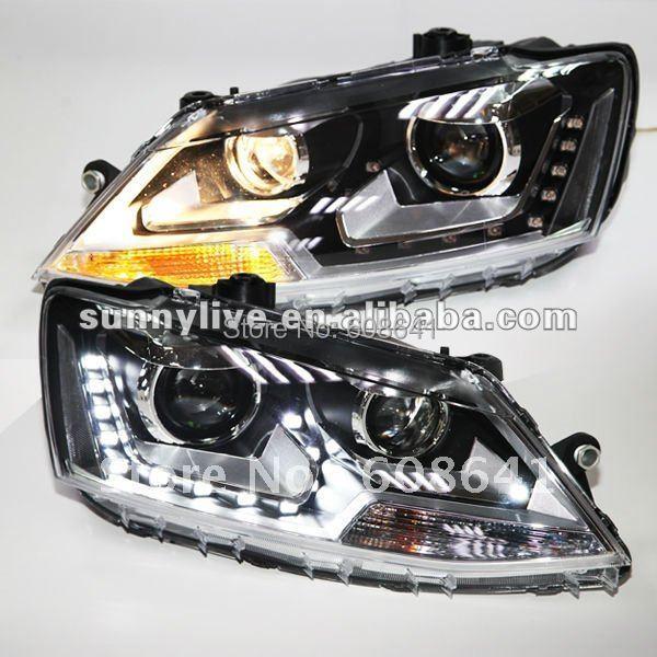 For VW New Jetta Sagitar LED Headlight 2012 year LD Type