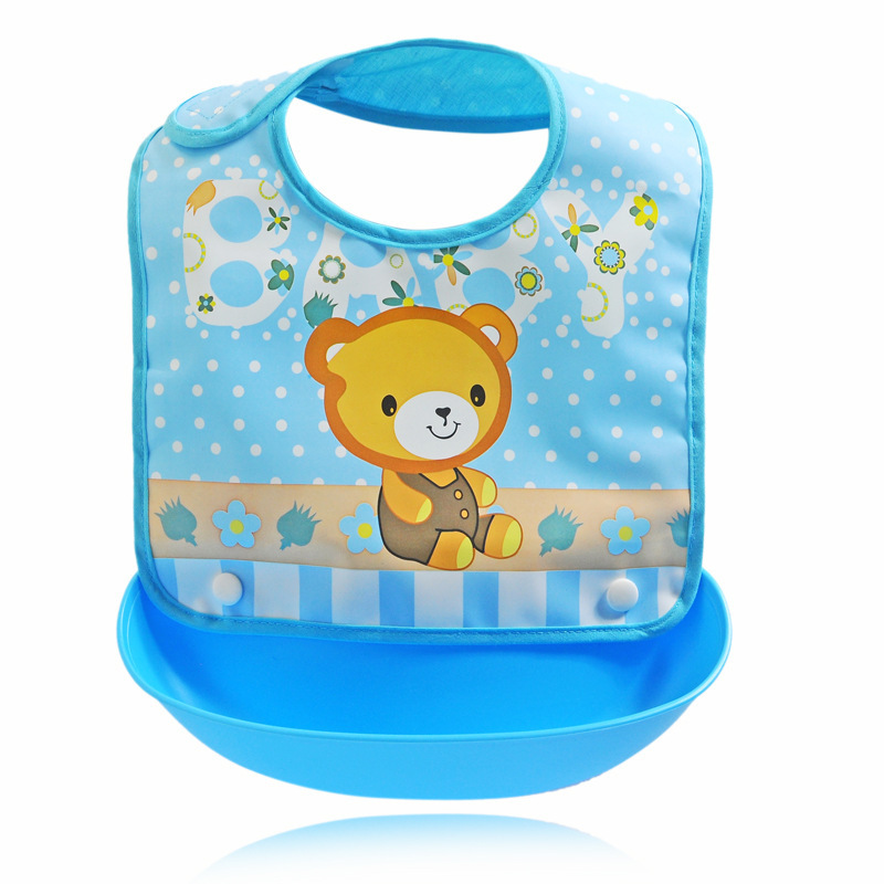 61d460e32a3b0 Mother Kids Baby Clothing Accessories Bibs Burp Cloths EVA Waterproof  Unisex Infants Cartoon Feeding Cloth Saliva Towel Apron-in Bibs & Burp  Cloths ...