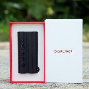 Image 2 - E Cigarette Digiflavor Lunar Box mod AS Chipset Electronic Cigs Vape Mod Supports Lumi Tank