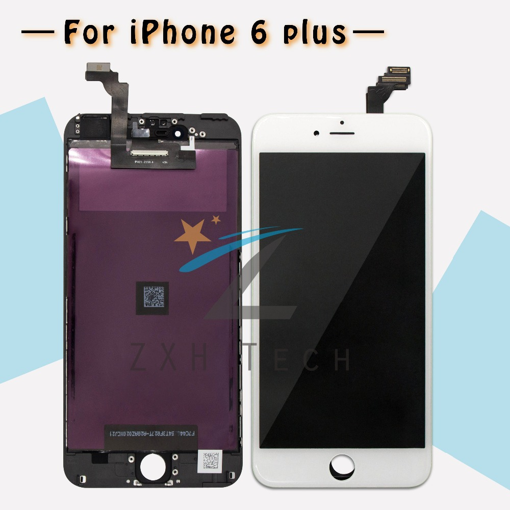 5PCS LOT A Clone For iPhone 6 plus LCD 5 5 Assembly Display Touch Screen Digitizer