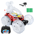 1:16 Spin flash lamp music remote control stunt car Remote Control Car Rechargeable Stunt Acrobatic Flash Light Music RC car