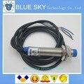 Free Shopping 5 PÇS/LOTE Indutiva Detecção de Sensor de Proximidade Mudar NPN DC6-36V LJ12A3-4-Z/BX 12 MM