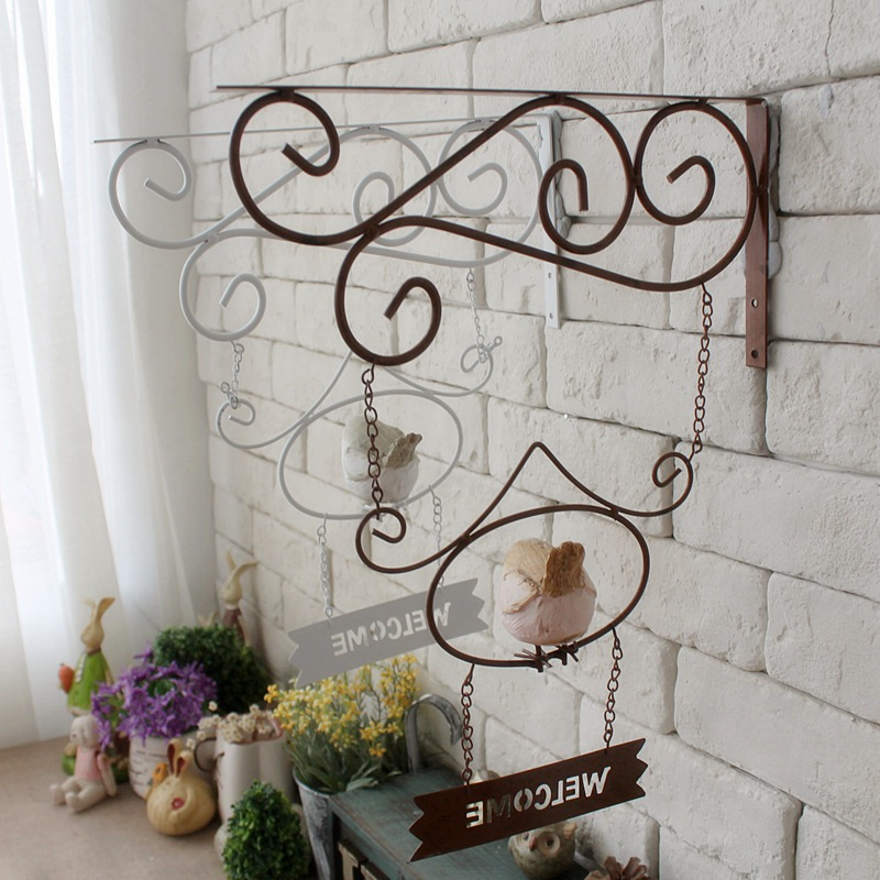 Vintage Home Decor Cafe Clothing Store Wall Hanging Garden Decor ...