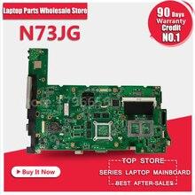 100% working Laptop Motherboard for ASUS N73JG N73JQ N73JF REV:2.1 60-NZYMB1100-C14 Mainboard 3RAM slots Fully tested