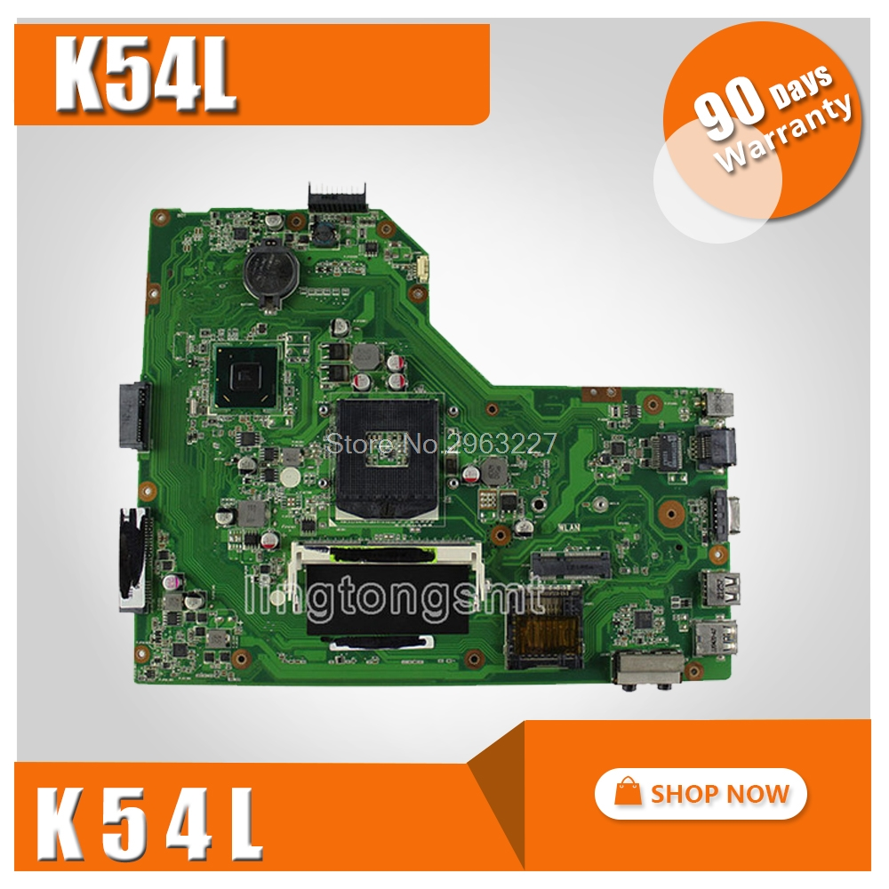 цены на K54L Motherboard REV 2.0 For ASUS X54H K54L Laptop motherboard K54L Mainboard K54L Motherboard test 100% OK