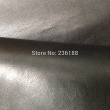 Top Level Black Genuine Calf Skin Leather Fabric  for Handbag/Shoes/purse/wallet,Free shipping by China post