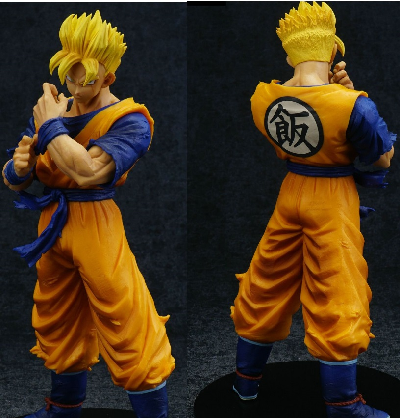 8''Anime Dragon Ball Z Action Figure Super Saiyan Goku Son Gohan Resolution of Warrior PVC Super Solider Figurine gift 16cm anime dragon ball z goku action figure son gokou shfiguarts super saiyan god resurrection f model doll