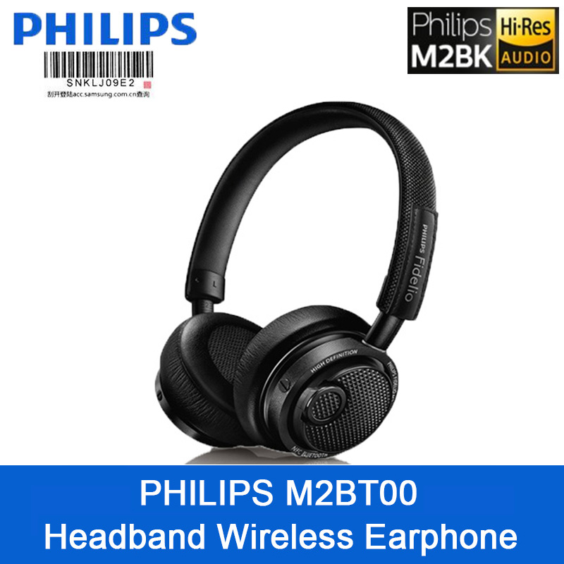 Original Philips M2bt 00 High Resolution Headset Wireless Bluetooth Earphone With High Quality Microphone Support Official Test Bluetooth Earphones Headphones Aliexpress