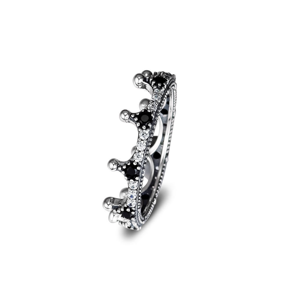 Rings silver 925 original Enchanted Crown Rings For Woman Jewelry Making Fashion European Rings Silver Jewelry