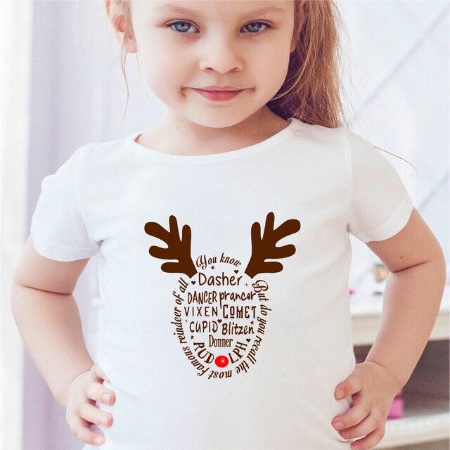kerst shirt meisje