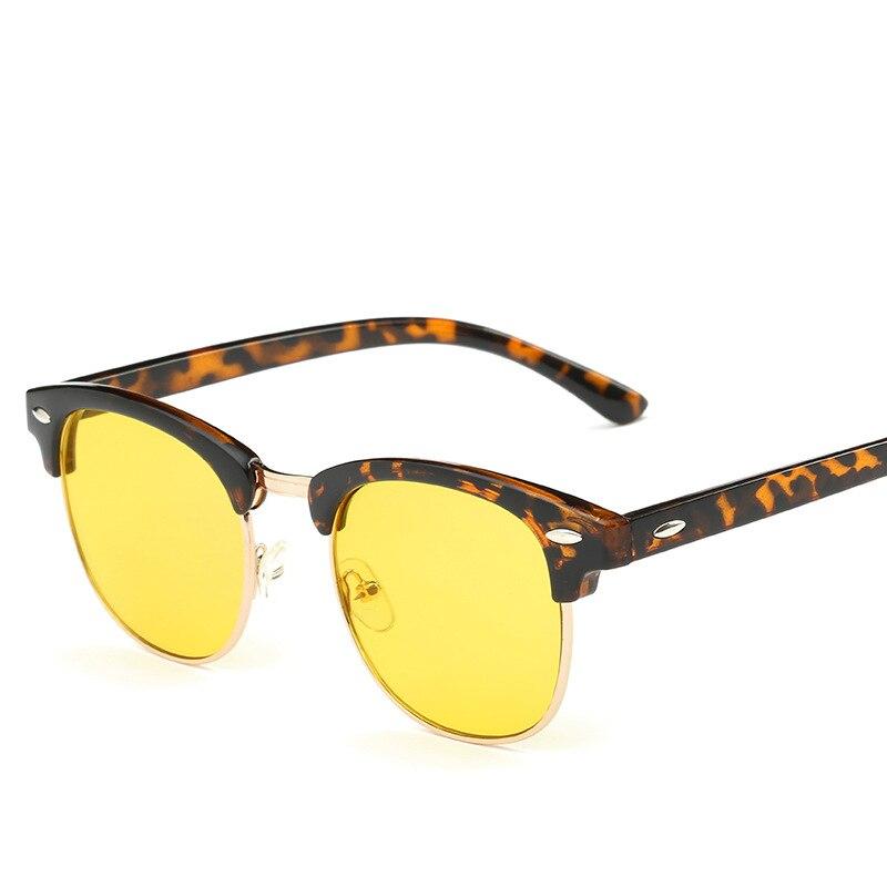 Желтый покрытие линз анти-голубой лучи Компьютер очки для чтения UV400 зрелище Club очки Мастер Игровой очки RB3016