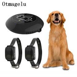 Pet Dog bezprzewodowy System ogrodzeń elektrycznych bezprzewodowy przekaźnik sygnału obroża treningowa dla psów z wibracyjnym porażeniem prądem elektrycznym