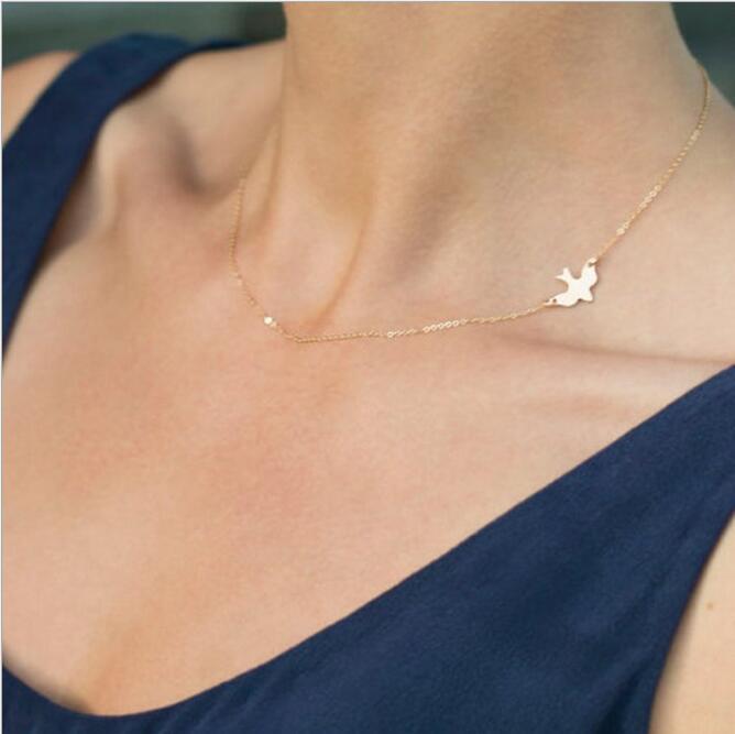 Любовь, черный кристалл, подвеска, ожерелье для женщин, бижутерия, ювелирные изделия, Exo Colar, новинка, девушка, одно направление, NA600 - Окраска металла: 765gold