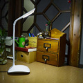 Adjustable Flexible USB Night Light Touch Sensor Table Desk Lamp LED White Reading Light