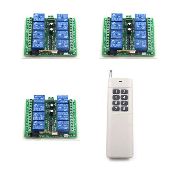Aliexpresscom  Buy 8 KEY RF Universal remote control 1000M