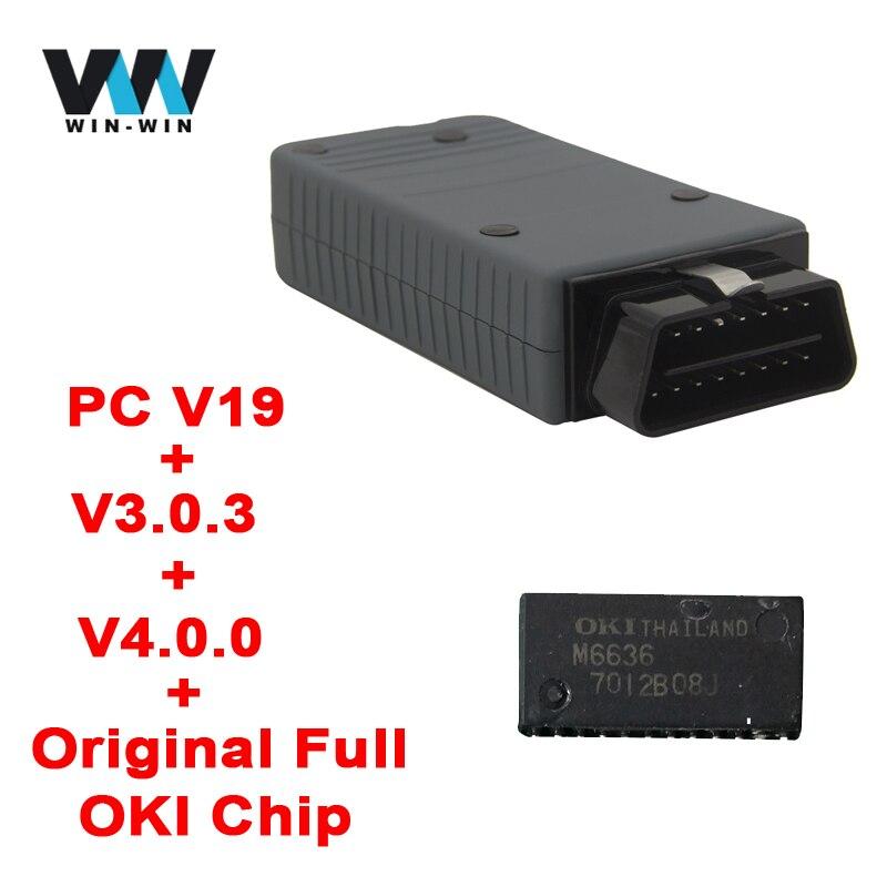 Цена за Vas 5054a ODIS V4.1.3 оригинальный OKI полный чип OBD OBD2 инструмент диагностики VAS 5054a Одис 4.13/4.0.0/3.0.3 Bluetooth сканер VAS5054A