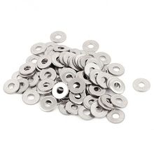 100pcs M3 3 mm metric 304 Stainless steel Flat washer
