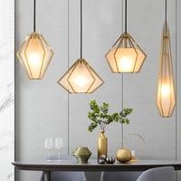 Современный подвесной светильник из металла стекло светодио дный LED Hanglamp для гостиная кухня светильники блеск подвесной светильник освеще