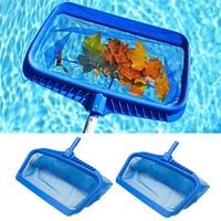 2Pcs Lightweight Pool Cleaning Net Heavy Duty Leaf Rake Mesh Frame Net Skimmer Cleaner Swimming Pool Spa Tool #2Y16