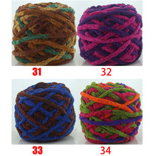 10 Pcs / Lot Single Strand Ice Line Yarn Scarves Hand-Knitted Baby Wool Slippers Hook thick For hand Knitting crochet yarn