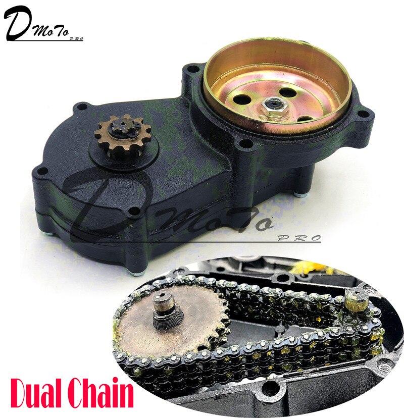 T8f embreagem de corrente dupla, preto 11 13 14 17 19 20 dente para 43cc 47cc 49cc mini moto pit dirt bicicleta quad atv buggy go dim