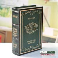 Verzending Woninginrichting decoratie studie decoratieve doos simulatie boek 01035-4DL