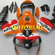 Мотоцикл обтекатель комплект для HONDA CBR600RR F5 03 04 CBR 600RR CBR 600 RR 2003 2004 ABS красные, оранжевые черные обтекатели комплект+ подарки HL35