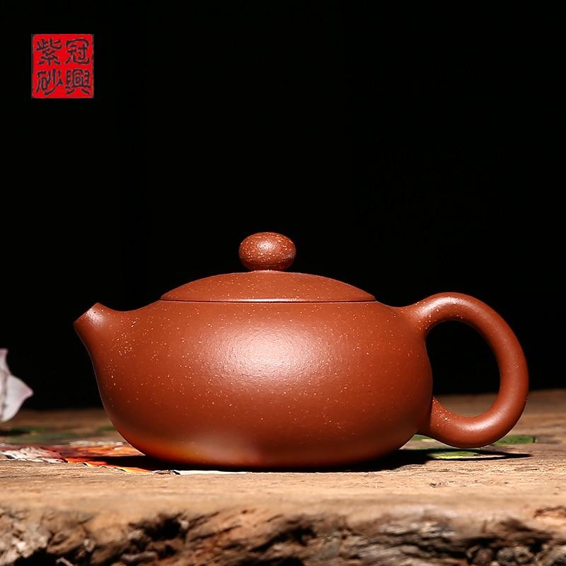 Yixing teapot full manual teapot beauty Xishi pot special ore sandYixing teapot full manual teapot beauty Xishi pot special ore sand