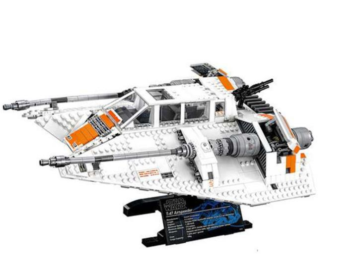 Lepin 05084 Star series Wars the Snowspeeder Model Building Blocks Educational Bricks Toys Gift for children compatible 75144 t art блузка