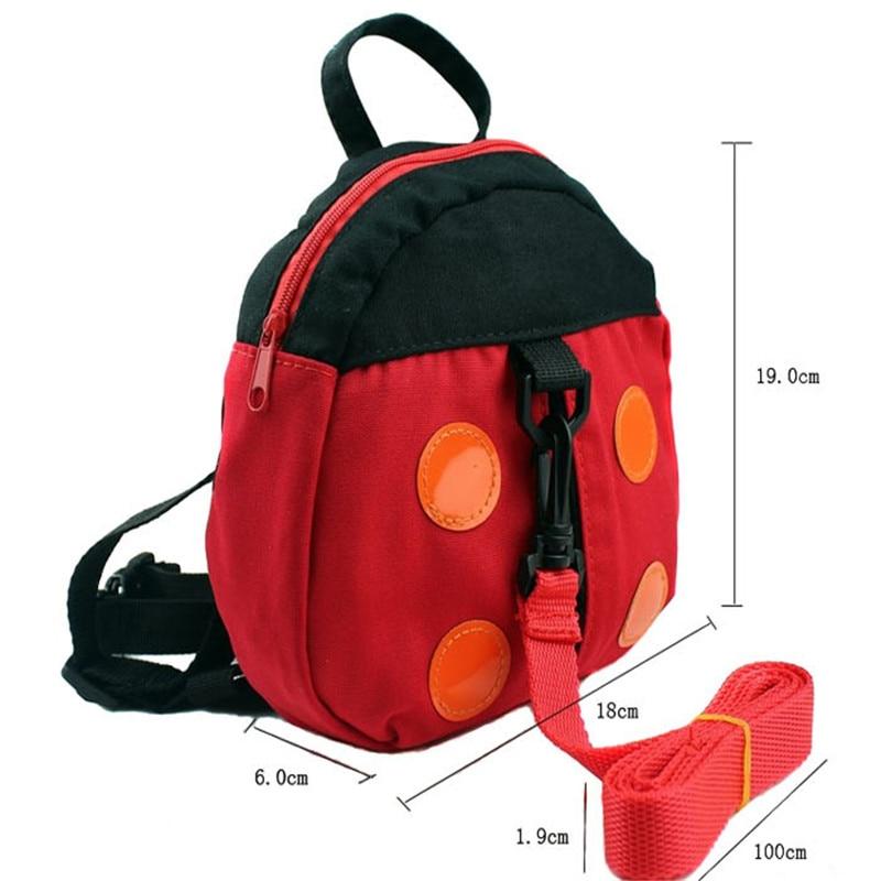"""1 единица """"Божья коровка"""" Приятель """"летучая мышь"""" для того, чтобы держать для переноски ребенка накладной рюкзак шлейка для малышей вожжи для прогулки"""