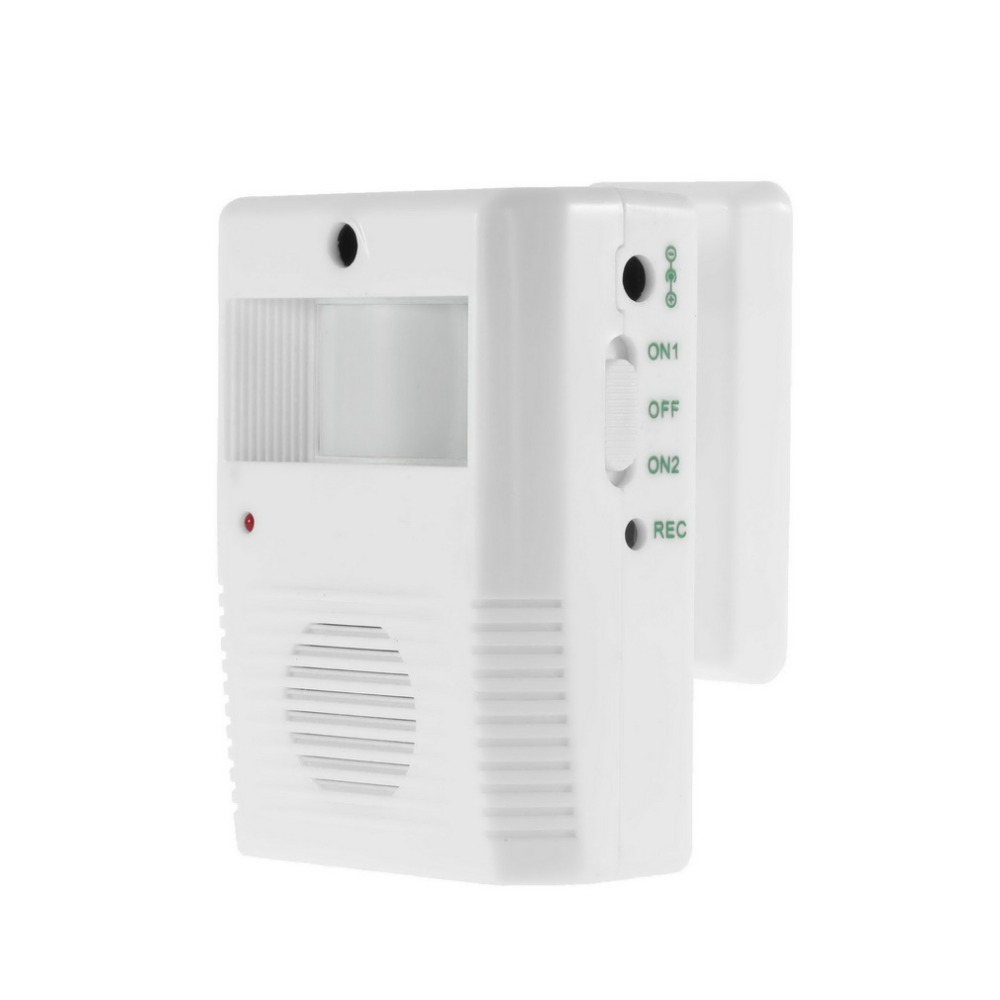 Wireless Entry Music Door Bell Chime Motion Sensor Alarm Electronic Sensor Detector Home House Welcome Chime Speak safurance wireless motion sensor detector gate entry door bell welcome chime alert alarm home automation home security