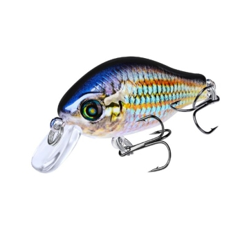 1pcs 52mm 8.5g Crank Fishing Lure Wobbler Floating Artificial plastic Hard Bait Trout Crankbait Bass Pike Japan Fishing Tackle 1