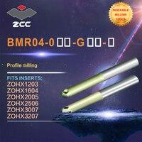 Zcc. ct 프로파일 밀링 커터 bmr04 고성능 cnc 선반 공구 볼 코 인덱서 블 밀링 공구 스트레이트 생크