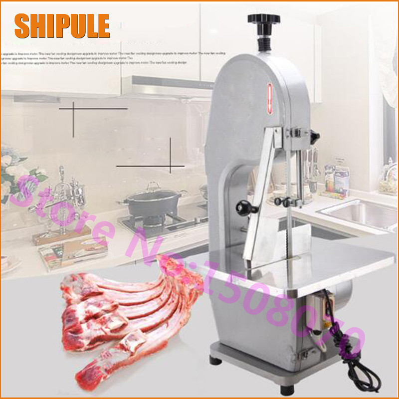 SHIPULE meat processing machinery commercial automatic frozen meat cutting machine electric bone cutter for sale