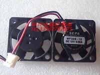 SEPA MF30E-12 12 V 0.05A 3*3*0.6 CM 3 CM siêu mỏng fan câm