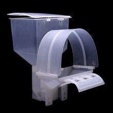 Pigeon автоматическая кормушка с одним отверстием для кормления, подвесная клетка птицы Попугай, пластмассовый прибор-дозатор, контейнер, аксессуары