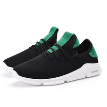 Discount 2018 Spring New Mens Casual Sneakers Men Shoes Loafers Air Mesh Lace-up Breathable Light Europe Style Brand Design