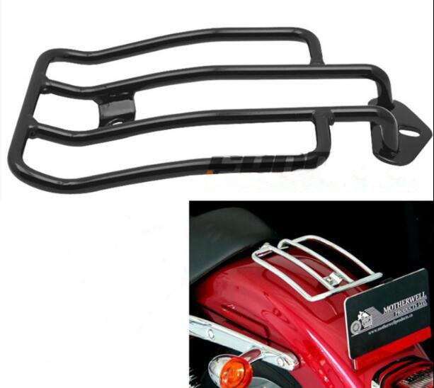 Motorcycle Solo Seat Luggage Rack suitable for Harley Davidson Sportster XL883 1200 48 aftermarket free shipping motorcycle parts brake clutch lever fit for harley davidson davidson xl sportster 883 1200 softail cd